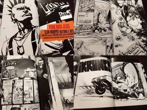 vertigo comics punk rock jesus latino tapa dura