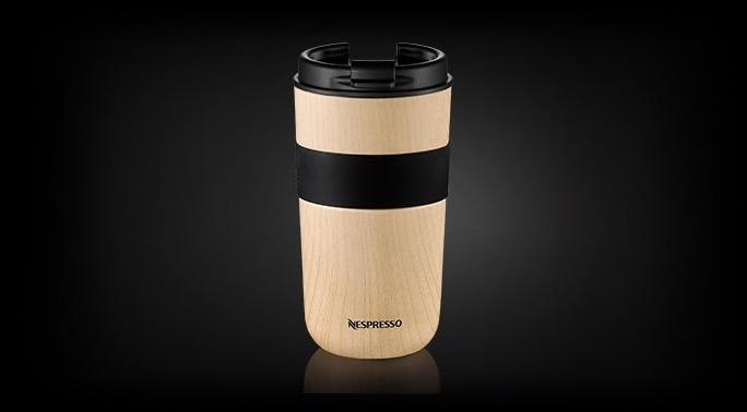 A Beige Importado Pedido Nespresso Travel Mug Vertuo Honey Lqj43A5R