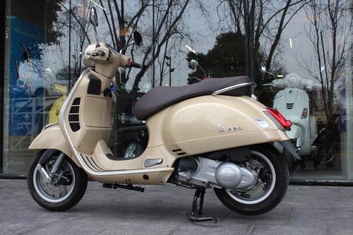 vespa 300 gts beige eleganza abs 0km - motoplex