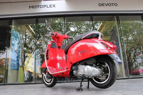 vespa 300 gts s roja abs/ asr motoplex devoto