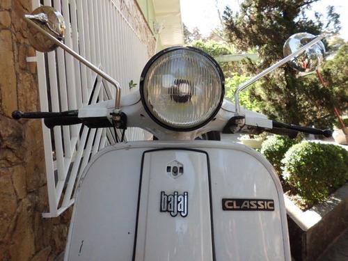 vespa bajaj classic 150cc funcionando com doc 2019 ok.