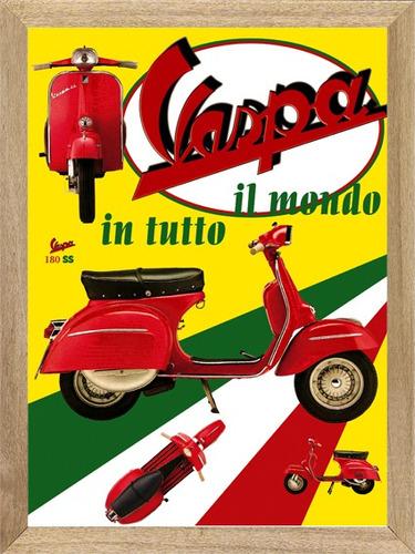 vespa cuadros posters publicidades carteles  l255