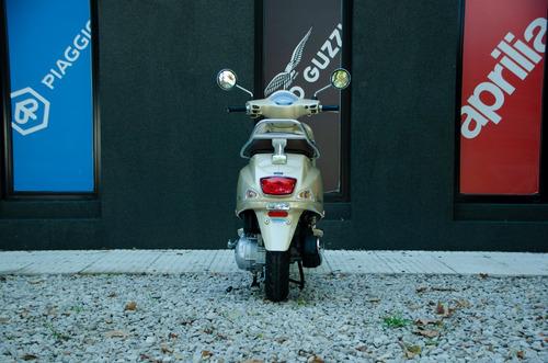 vespa elegante vxl 150 beige - motoplex no scooter susuky