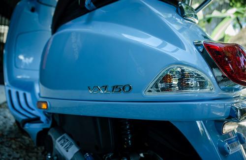 vespa elegante vxl 150 celeste - motoplex san isidro