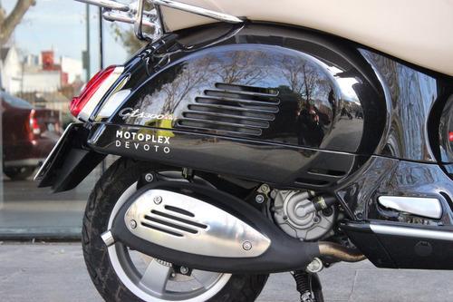 vespa gts 300 negra scooter motoplex devoto no benelli
