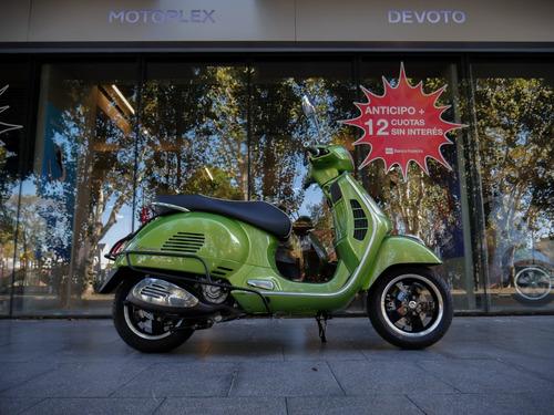 vespa gts 300 super verde motoplex devoto - no bmw kymco