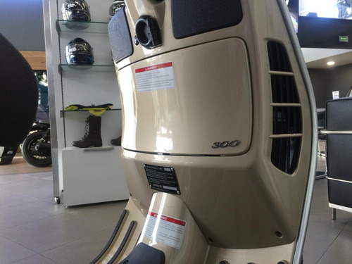 vespa gts 300cc abs, asr (nueva) 2019 nuevo color