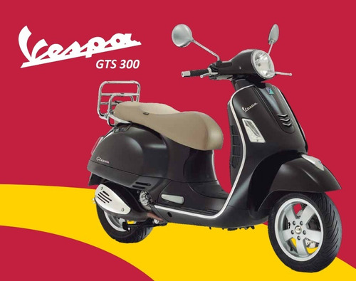 vespa gts scooter motos