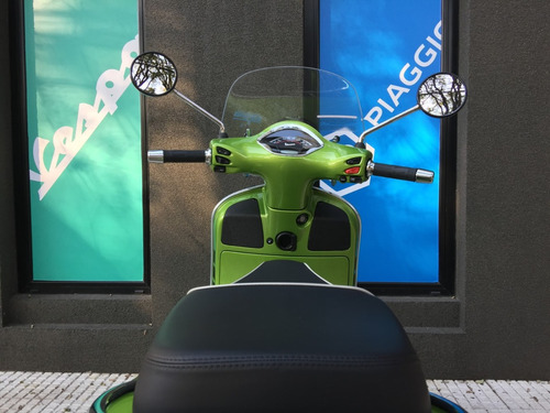 vespa gts super 300 verde asr/ abs 2018 motoplex san isidro