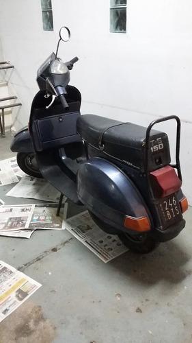 vespa piaggio t 150 p/restaurar mod. 1992