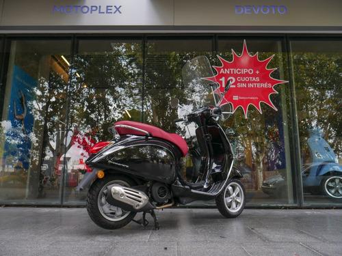 vespa primavera 150 negra scooter - motoplex devoto no kymco