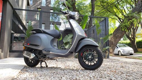 vespa sprint gris mate 150cc no kymco - motolex san isidro