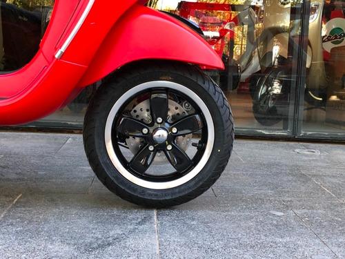 vespa sxl 150 roja - motoplex devoto scooter