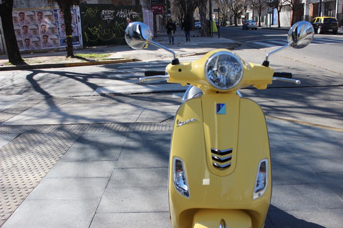 vespa vxl 150 0km amarilla motoplex devoto