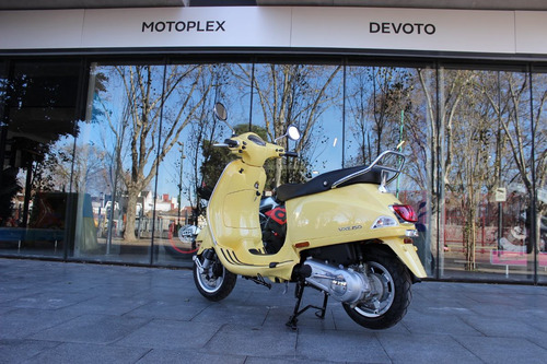 vespa vxl 150 amarilla 0km financiación motoplex devoto