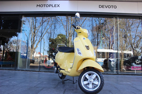 vespa vxl 150 amarilla 0km motoplex devoto