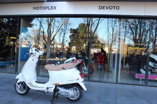 vespa vxl 150 blanca financiación motoplex devoto