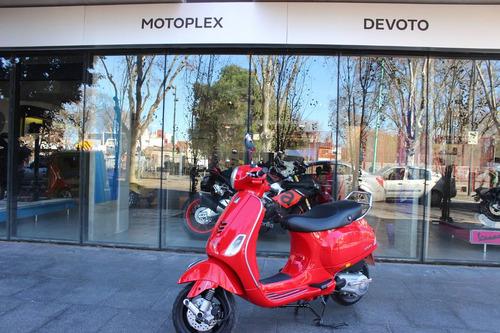 vespa vxl 150 customizada roja motoplex