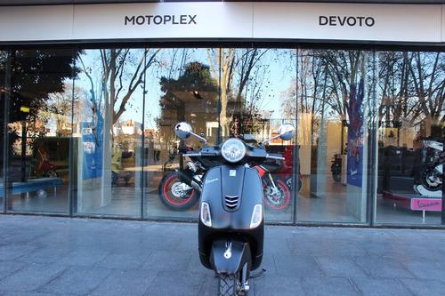 vespa vxl 150 negra scooter motoplex devoto no nx