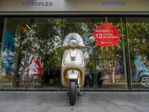 vespa vxl elegante 150 beige scooter - motoplex devoto