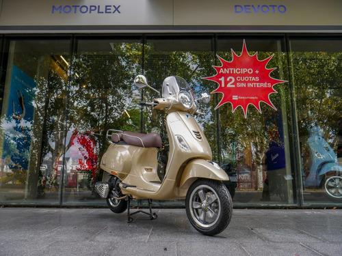 vespa vxl elegante 150 beige scooter motoplex devoto no sym