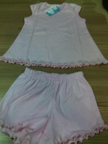 vestidito 100% algodon con short