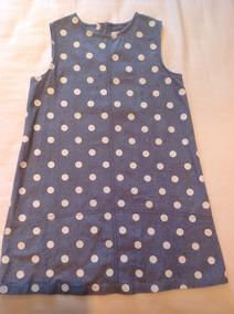 8380007e4 Vestido Bambino Para Niña Bluejean por Bambino · Vestidito Blue Jean Con  Lunares Epk Talla 8
