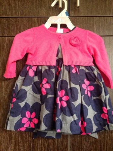 vestidito de niña carters de 3 meses. muy lindo.