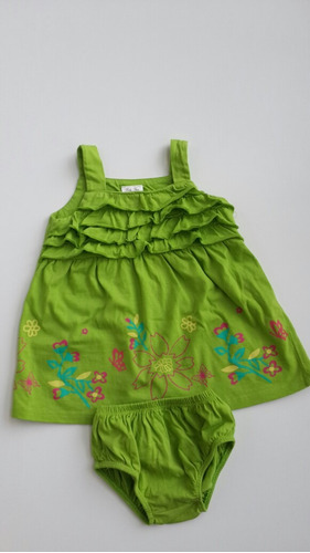 vestiditos carters y baby time-t 9m.- usa-impecables