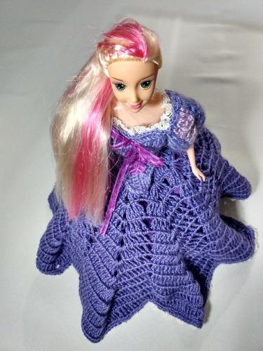 vestiditos de fiesta para tu barbie,artesanía en crochet