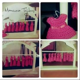 Vestiditos Mini Vestidos Souvenirs Crochet Por Pedido
