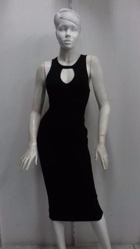 vestido 02 negro a