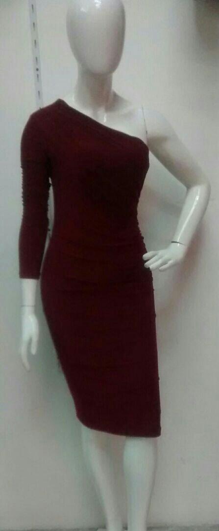 Vestido 02 Para Dama Color Vino