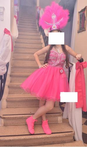 vestido 15 años alta costura importado bordado en piedras