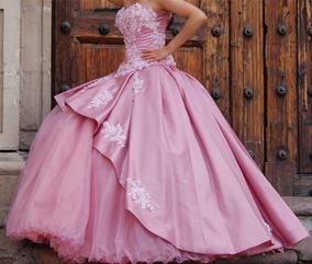 Vestidos De 15 Años Color Rosa Vestidos De Mujer De 15 En