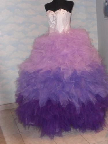 vestido 15 años ! confección a medida colores a elección .