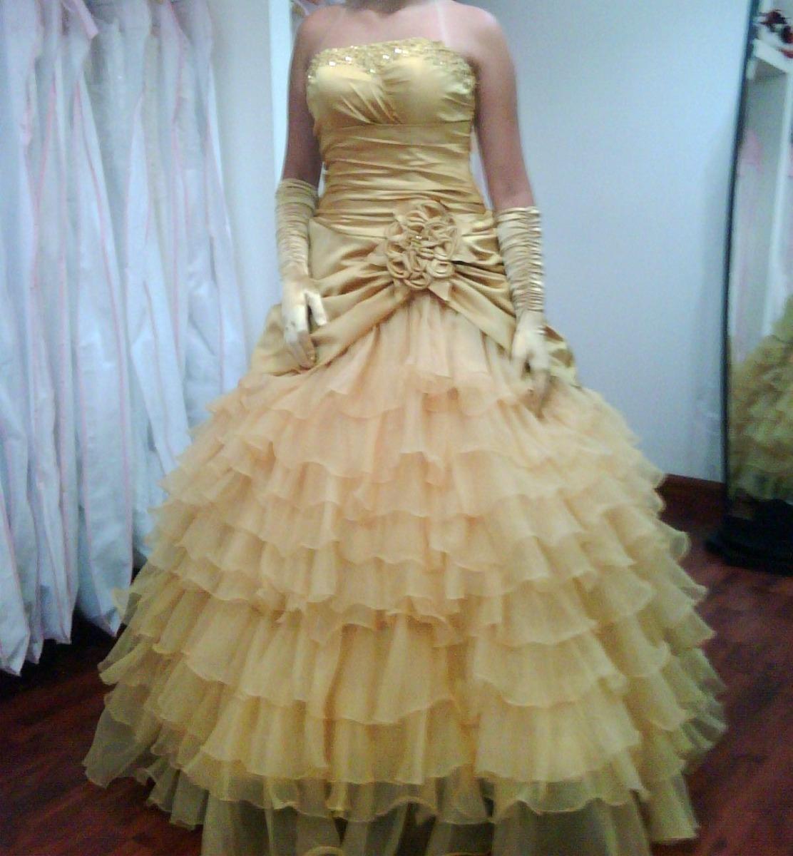 Vestidos 15 corte princesa