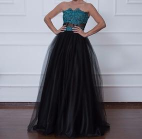 c65ce92ccd4 Vestido 15 Anos Debutante 2 Em 1 - Modelo Exclusivo!!