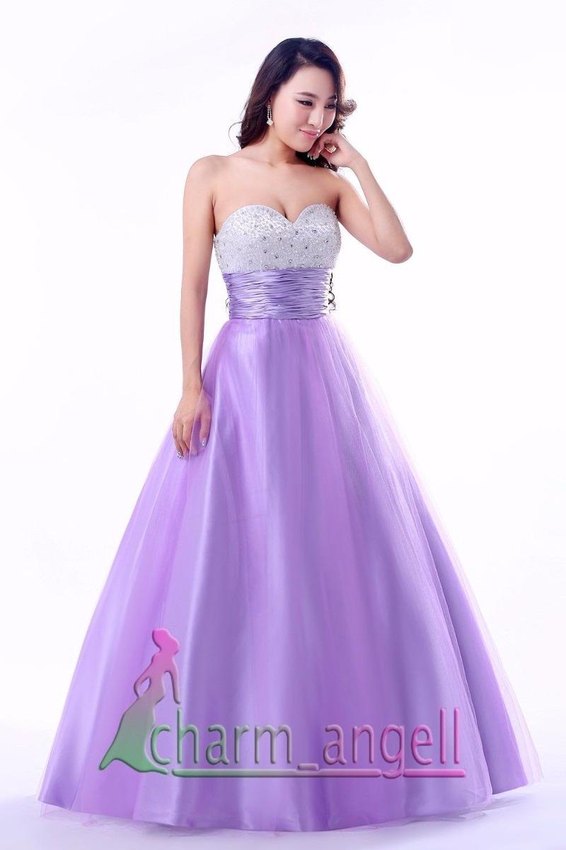 189755265b vestido 15 años lila talle s-m importado. Cargando zoom.