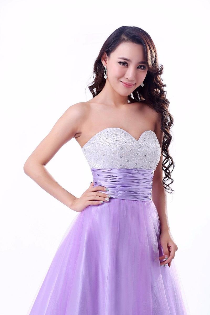 Bonito Suaves Vestidos De Dama De Rosa Modelo - Ideas de Estilos de ...