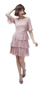 1935ca2c3 Vestido Globo Con Manga - Vestidos de Mujer Rosa en Estado De México ...