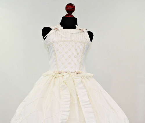 vestido 1era comunion shantu niña mod: alexa