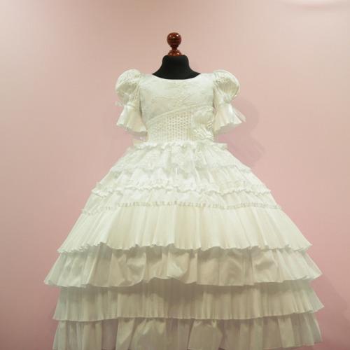vestido 1era comunion shantu niña mod: sofia