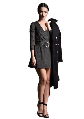 vestido 8013 tela lurex   lasbarbaras'2017