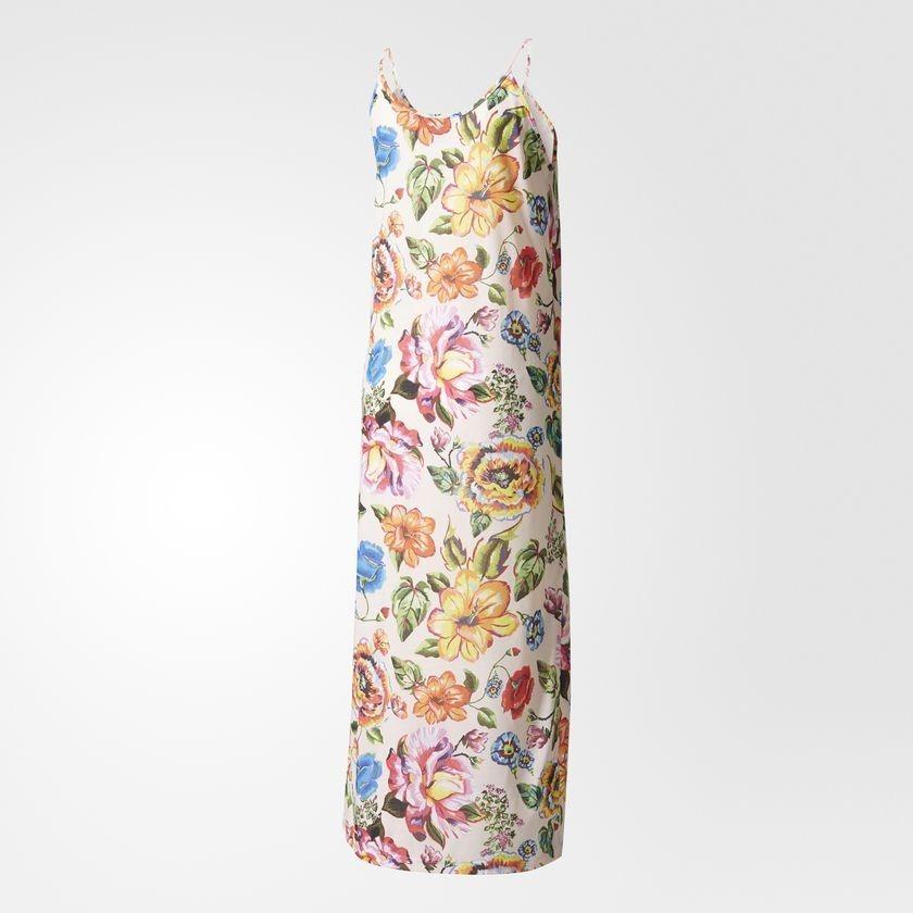4b770e7c0d6c2 vestido adidas floral l - multicolor. Carregando zoom.