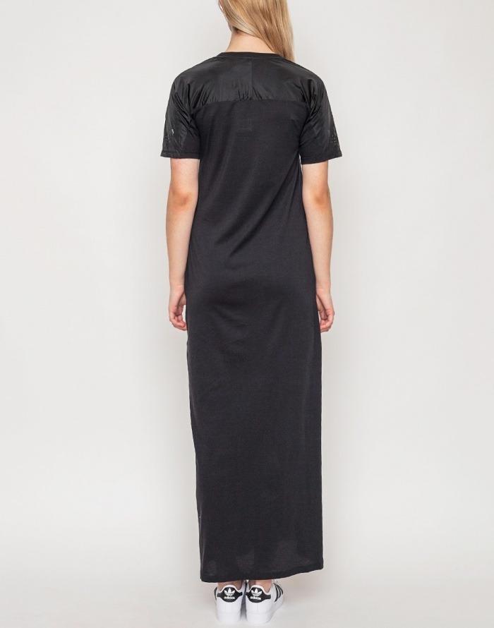 Vestido adidas negro largo
