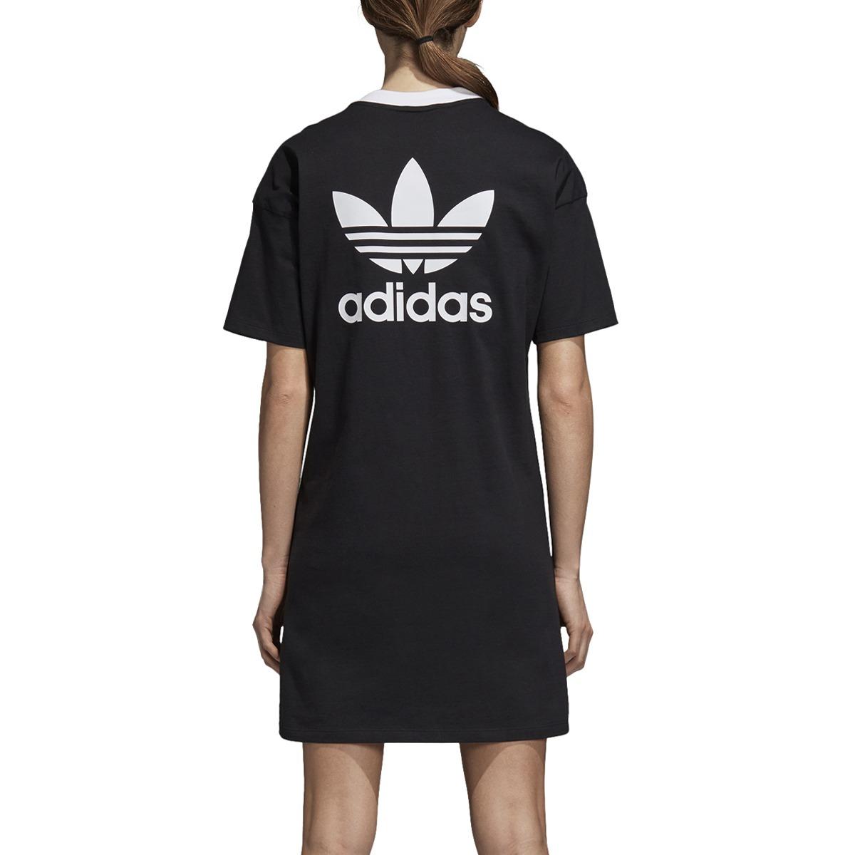Vestido adidas Originals Moda Trefoil Dress Mujer Ng