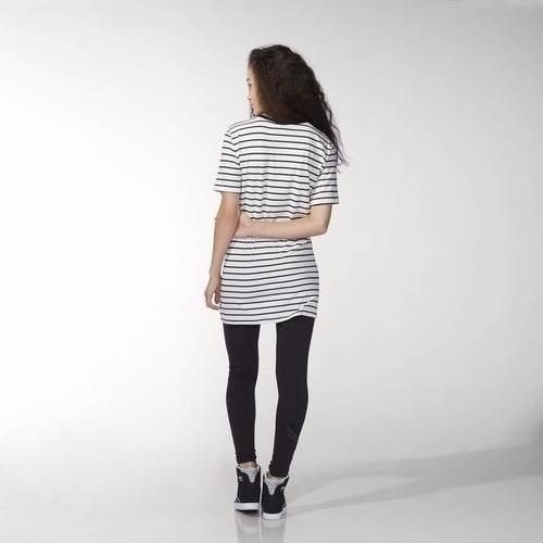 vestido adidas originals  rayas talla m edición exclusiva
