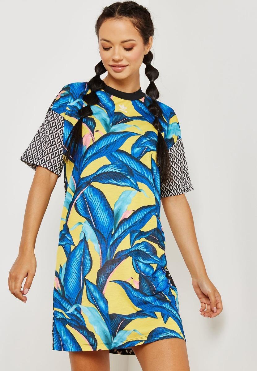 Adviento Galantería Ascensor  Vestido adidas Tee Dress - 49655 - R$ 209,90 em Mercado Livre