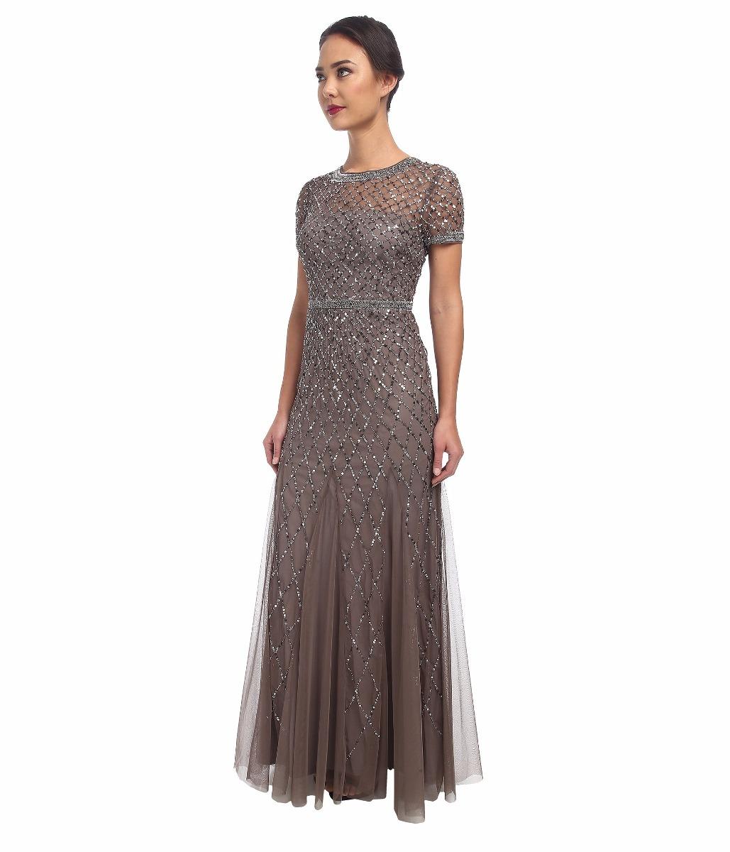 45f4777ad vestido adrianna papell modelo mansur talla 4 noche de rio. Cargando zoom.